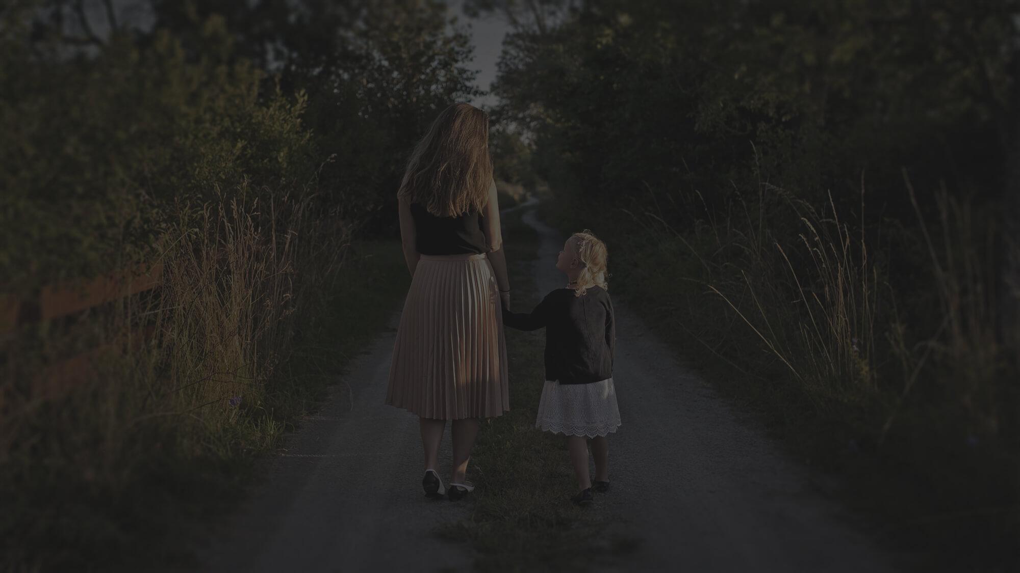 Mami und Kind